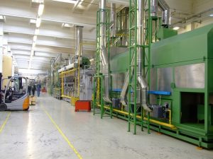 בידוד זעזועים למפעלים