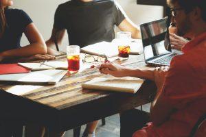 פגישת ייעוץ עסקי